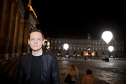 Carsten Nicolai - Pioneer II installation at Piazza Plebiscito in Naples