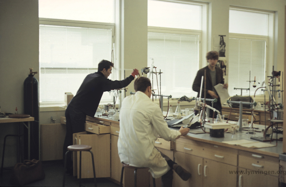 Laboratory organic chemistry, NTH 1968