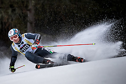 19.12.2016, Grand Risa, La Villa, ITA, FIS Ski Weltcup, Alta Badia, Riesenslalom, Herren, 1. Lauf, im Bild Florian Eisath (ITA) // Florian Eisath of Italy in action during 1st run of men's Giant Slalom of FIS ski alpine world cup at the Grand Risa race Course in La Villa, Italy on 2016/12/19. EXPA Pictures © 2016, PhotoCredit: EXPA/ Johann Groder
