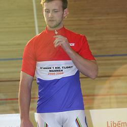 APELDOORN NK Baanwielrennen 2008-2009<br />Kilometer; Teun Mulder