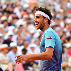 Marco Cecchinato of Italy during Day 8 of the French Open 2018 on June 3, 2018 in Paris, France. (Photo by Dave Winter/Icon Sport)