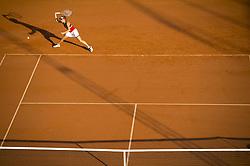 July 29, 2017 - BÅ'Stad, Sverige - 170729 Elise Martens, Belgien, i en semifinalsmatch under dag 7 av Swedish open den 29 juli 2017 i BÅ'stad  (Credit Image: © Mathilda Ahlberg/Bildbyran via ZUMA Wire)