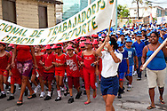 May 1st parade for workers in Niquero, Granma, Cuba.