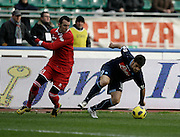 Bari (BA), 23-01-2011 ITALY - Italian Soccer Championship Day 21 - Bari VS Napoli..Pictured: Maggio (N)..Photo by Giovanni Marino/OTNPhotos . Obligatory Credit