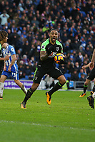 Football - 2017 / 2018 Premier League - Brighton and Hove Albion vs. AFC Bournemouth<br /> <br /> Bournemouth's Callum Wilson salutes the fans after Bournemouth scramble in an equaliser at The Amex Stadium Brighton <br /> <br /> COLORSPORT/SHAUN BOGGUST