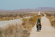 Brook Allen cycles along Baja California Backroad - Mexico