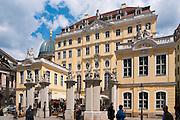 Coselpalais, Altstadt, Dresden,  Sachsen, Deutschland.|.Cosel Palais, Dresden, Germany