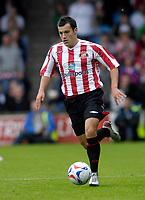 Photo: Jed Wee/Sportsbeat Images.<br /> Scunthorpe United v Sunderland. Pre Season Friendly. 21/07/2007.<br /> <br /> Sunderland's Ross Wallace.