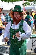 Photo of Leprechaun at the Dublin Irish Festival in Dublin, Ohio.