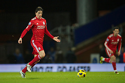 BLACKBURN, ENGLAND - Wednesday, January 5, 2011: Liverpool's Fernando Torres in action against Blackburn Rovers during the Premiership match at Ewood Park. (Pic by: David Rawcliffe/Propaganda)