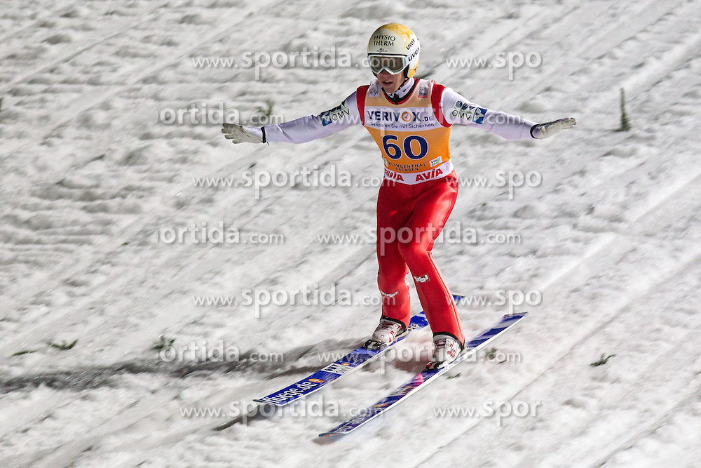 21.11.2014, Vogtland Arena, Klingenthal, GER, FIS Weltcup Ski Sprung, Klingenthal, Herren, HS 140, Qualifikation, im Bild THOMAS DIETHART // during the mens HS 140 qualification of FIS Ski jumping World Cup at the Vogtland Arena in Klingenthal, Germany on 2014/11/21. EXPA Pictures &copy; 2014, PhotoCredit: EXPA/ Newspix/ Katarzyna Plewczynska<br /> <br /> *****ATTENTION - for AUT, SLO, CRO, SRB, BIH, MAZ, TUR, SUI, SWE only*****