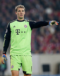 23.10.2012, Grand Stade Lille Metropole, Lille, OSC Lille vs FC Bayern Muenchen, im Bild Torwart Manuel NEUER (FC Bayern Muenchen - 1) Freisteller // during UEFA Championsleague Match between Lille OSC and FC Bayern Munich at the Grand Stade Lille Metropole, Lille, France on 2012/10/23. EXPA Pictures © 2012, PhotoCredit: EXPA/ Eibner/ Gerry Schmit..***** ATTENTION - OUT OF GER *****