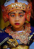 Young Balinese Dancer, Peliatan, Bali, Indonesia
