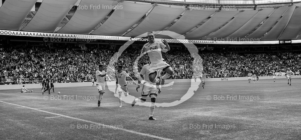 23 October 2016:   Action during a game between Vancouver Whitecaps FC and Portland Timbers FC on Bell Pitch at BC Place Stadium in Vancouver, BC, Canada. ****(Photo by Bob Frid - Vancouver Whitecaps 2016 - All Rights Reserved)***