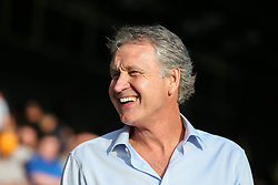 Southend United manager Kevin Bond is all smiles before kick off - Mandatory by-line: Arron Gent/JMP - 24/07/2019 - FOOTBALL - Roots Hall - Southend-on-Sea, England - Southend United v Millwall - pre season friendly
