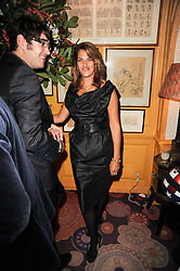 TRACEY EMIN at a party to celebrate the publication of Blow by Blow - The Story of Isabella Blow by Detmar Blow and Tom Sykes held at Annabel's, Berkeley Square, London on 21st September 2010.
