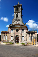 Church in San Miguel de los Banos, Matanzas, Cuba.