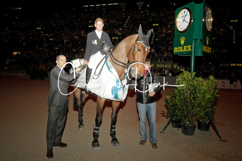 Ehning Marcus (GER) - Noltes K&uuml;chengirl<br /> Winner of the Rolex FEI World Cup Zurich 2011<br /> &copy; Dirk Caremans