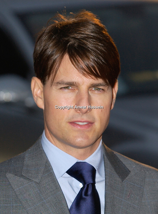 Tom Cruise arrives at The Times BFI 51st London Film Festival gala screening and world premiere of 'Lions for Lambs' at the Odeon Leicester Square on October 22, 2007 in London, England.  .
