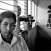 NI—OS DE PORAI - Homenaje a Mariano Diaz.Photography by Aaron Sosa.El Tamunangue.El Tocuyo, Estado Lara - Venezuela 2004.(Copyright © Aaron Sosa)