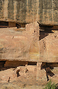 Pueblo cliff dwelling ruins, Mesa Verde National Park, Colorado