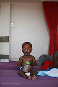 027, Siyabonga Gwebu, 17 Months, Male, UCL, 2 hours after surgery in the post op ward.<br /> <br /> Rob Ferreira hospital during Operation Smile South Africa&rsquo;s 2015 mission to Mbombela. South Africa.<br /> <br /> (Operation Smile Photo - Zute Lightfoot)
