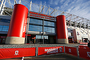 The Riverside Stadium during the EFL Sky Bet Championship match between Middlesbrough and Ipswich Town at the Riverside Stadium, Middlesbrough, England on 29 December 2018.