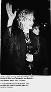 Jessica Lange arriving at the Oscar Night party hosted by Steve Tisch and Vanity Fair. Morton's. Los Angeles. March 1995. 95550/28<br />© Copyright Photograph by Dafydd Jones<br />66 Stockwell Park Rd. London SW9 0DA<br />Tel 0171 733 0108