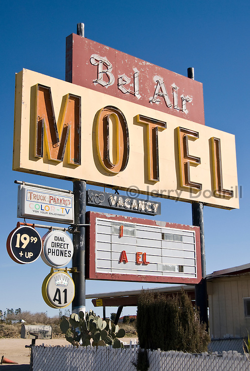 Bel Air Motel, Mojave, California