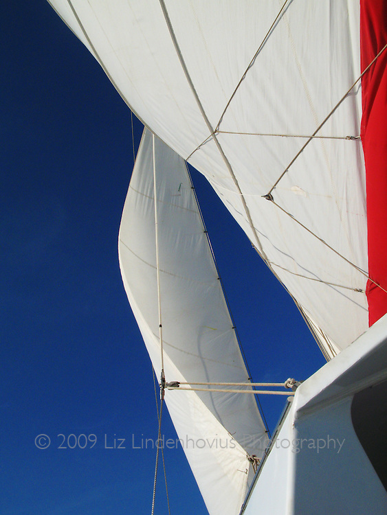 Sails on Sailboat