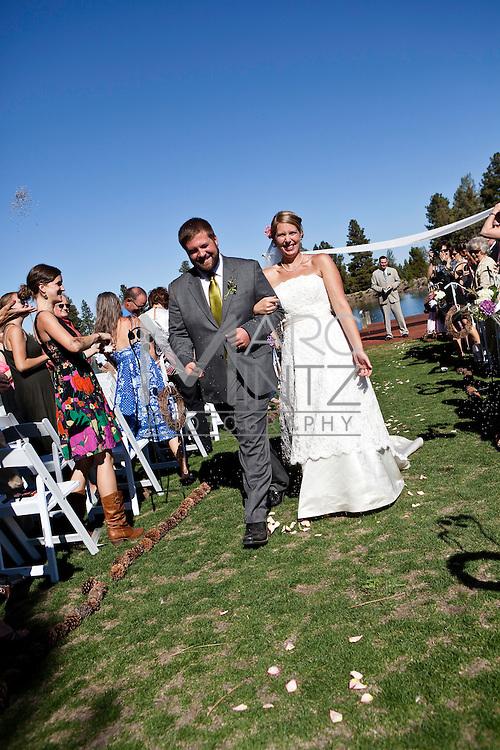 Katie and Nic's wedding.  Sisters, Oregon.