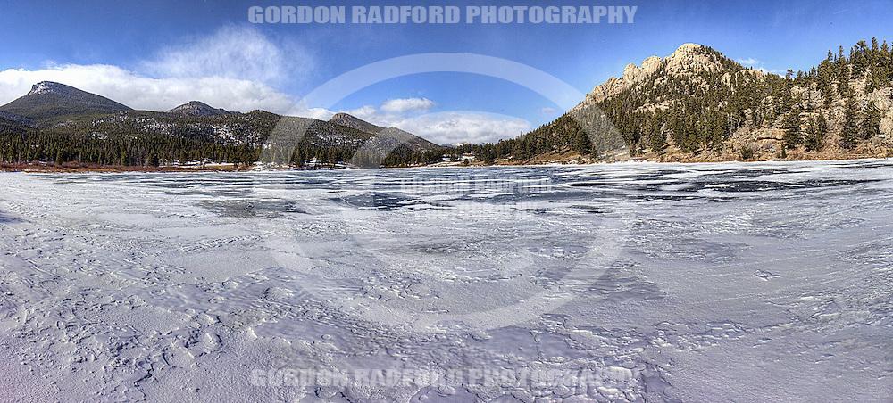 Lily Lake on the Peak to Peak Highway - Near Estes Park, Colorado