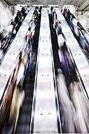 The busy Taipei MRT (subway) is one of the most efficient in the world.