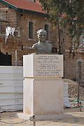 Statue of Mustafa Kemal Ataturk founder of the Republic of Turkey in Beer Sheva, Israel
