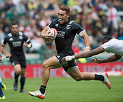 Twickenham, Surrey United Kingdom. New Zealand, Joe WEBBER, during the Pool C game, New Zealand vs Fiji at the  &quot;2017 HSBC London Rugby Sevens&quot;,  Saturday 20/05/2017 RFU. Twickenham Stadium, England    <br /> <br /> [Mandatory Credit Peter SPURRIER/Intersport Images]