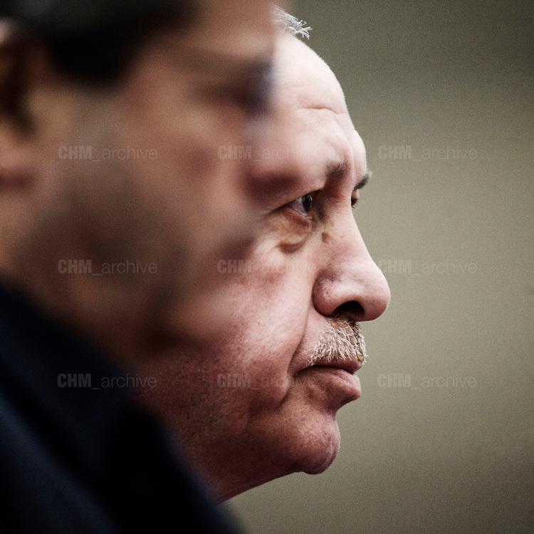 Recep Tayyip Erdoğan at Palazzo Chigi. Rome 5 january 2018. Christian Mantuano / OneShot