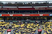 A League - Wellington Phoenix v Brisbane Roar FC at Westpac Stadium, Wellington, New Zealand on Saturday 28 October.<br /> Photo by Masanori Udagawa. <br /> www.photowellington.photoshelter.com