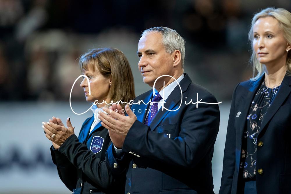 De Vos Ingmar, BEL, FEI Preisident<br /> LONGINES FEI World Cup™ Finals Gothenburg 2019<br /> © Hippo Foto - Stefan Lafrentz<br /> 06/04/2019