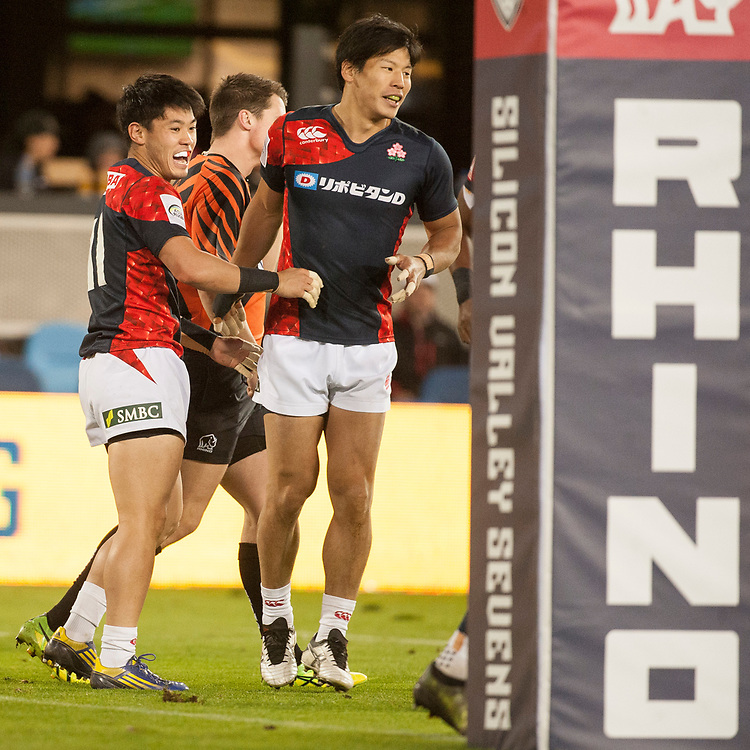 Australia play the Japan at the Silicon Valley Sevens in San Jose, California. November 4, 2017. <br /> <br /> By Jack Megaw.<br /> <br /> AUSJPN<br /> <br /> <br /> <br /> www.jackmegaw.com<br /> <br /> jack@jackmegaw.com<br /> @jackmegawphoto<br /> [US] +1 610.764.3094<br /> [UK] +44 07481 764811
