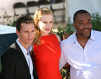 Matthew Mcconaughey, Nicole Kidman, Lee Daniels, at The Paperboy photocall at the 65th Cannes Film Festival France. Thursday 24th May 2012 in Cannes Film Festival, France.
