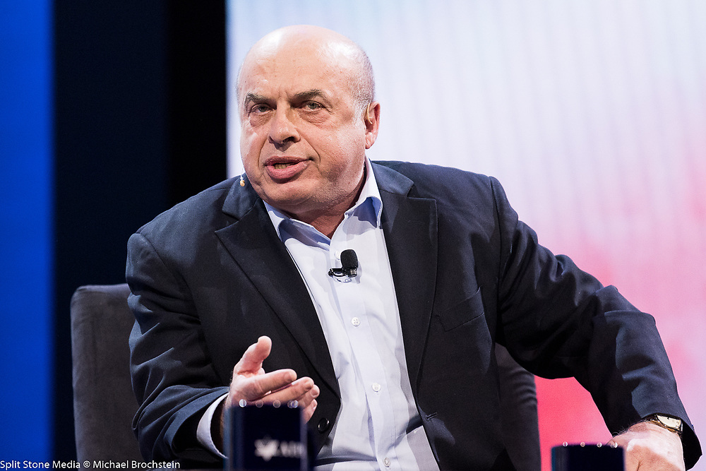 Natan Sharansky, Chair of the Executive of the Jewish Agency for Israel, speaking at the AIPAC (American Israel Public Affairs Committee) Policy Conference at the Walter E. Washington Convention Center in Washington, DC on March 5, 2018
