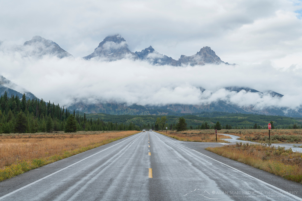 Park Road Grand Teton National Park