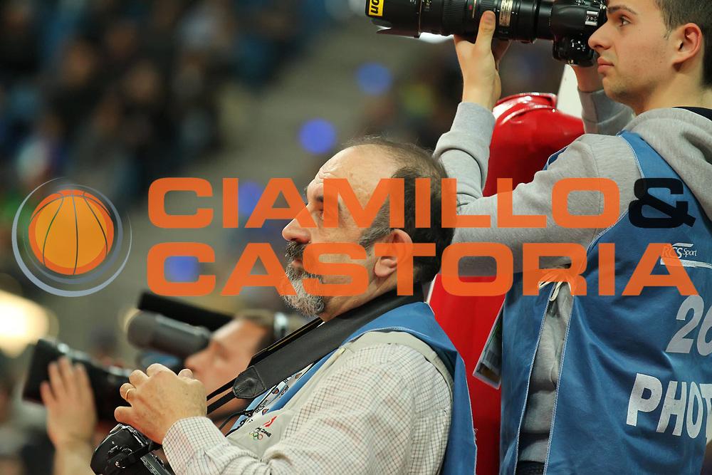 DESCRIZIONE : Pesaro Edison All Star Game 2012<br /> GIOCATORE : Giulio Ciamillo<br /> CATEGORIA : press fotografia fotografo<br /> SQUADRA : Italia<br /> EVENTO : All Star Game 2012<br /> GARA : Italia All Star Team<br /> DATA : 11/03/2012 <br /> SPORT : Pallacanestro<br /> AUTORE : Agenzia Ciamillo-Castoria/ElioCastoria<br /> Galleria : FIP Nazionali 2012<br /> Fotonotizia : Pesaro Edison All Star Game 2012<br /> Predefinita :