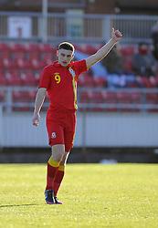 Jake Cassidy (Wolverhampton Wanderers) of Wales - Photo mandatory by-line: Joe Meredith/JMP - Tel: Mobile: 07966 386802 06/02/2013 - SPORT - FOOTBALL - Stebonheath Park - Llanelli -  Wales U21s V Iceland U21s - U21s International friendly