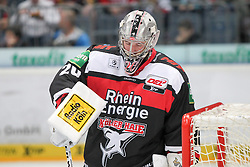 19.10.2014, LANXESS Arena, Köln, GER, DEL, Kölner Haie vs ERC Ingolstadt, 12. Runde, im Bild Sebastastian Stefaniszin (Koelner Haie), Koelner Haie - ERC Ingolstadt am 19.10.2014 in der Lanxess-Arena in Koeln (Nordrhein-Westfalen). // during Germans DEL Icehockey League 12 th round match between Cologne Haie and ERC Ingolstadt at the LANXESS Arena in Köln, Germany on 2014/10/19. EXPA Pictures © 2014, PhotoCredit: EXPA/ Eibner-Pressefoto/ Kohring_Fuss<br /> <br /> *****ATTENTION - OUT of GER*****