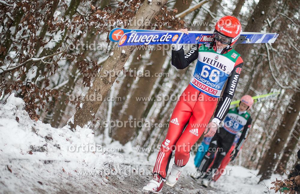 05.01.2015, Paul Ausserleitner Schanze, Bischofshofen, AUT, FIS Ski Sprung Weltcup, 63. Vierschanzentournee, Training, im Bild Richard Freitag (GER) // during Training of 63rd Four Hills <br /> Tournament of FIS Ski Jumping World Cup at the Paul Ausserleitner Schanze, Bischofshofen, Austria on 2015/01/05. EXPA Pictures &copy; 2015, PhotoCredit: EXPA/ JFK
