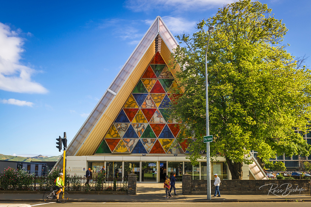 Christchurch Transitional Cathedral (Cardboard Cathedral), Christchurch, Canterbury, South Island, New Zealand