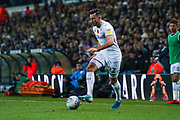 Leeds United midfielder Jack Harrison (22) during the EFL Sky Bet Championship match between Leeds United and Blackburn Rovers at Elland Road, Leeds, England on 9 November 2019.