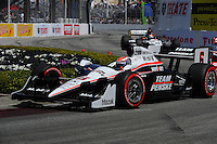 Ryan Briscoe, Toyota Grand Prix of Long Beach, Streets of Long Beach, Long Beach, CA USA  4/18/2010