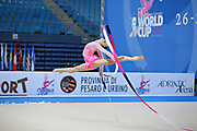 Durunda Marina during final at ribbon in Pesaro World Cup on April 28, 2013.<br />